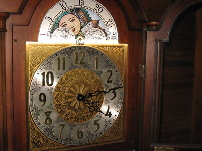 Vintage Grandfather Clock Made by Colonial Clock co. of Zeeland Michigan