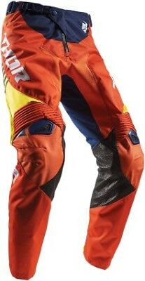 Thor Fuse Propel 2017 MX/Offroad Pants Navy/Blue/Red Orange
