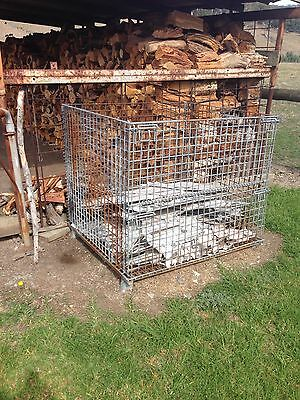 Galvanised Steel Mesh Crate