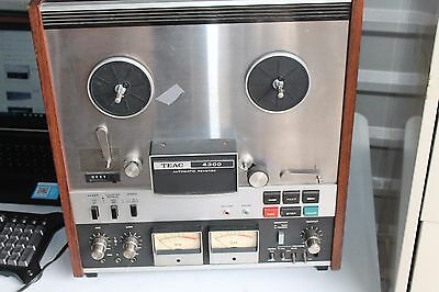 TEAC 4300 Auto Reverse Reel to Reel Tape Recorder As IS