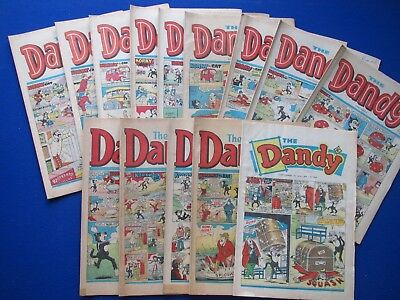 The Dandy Comic : 1969 - 1987  - Choose which issues you need ...Your Birthday ?