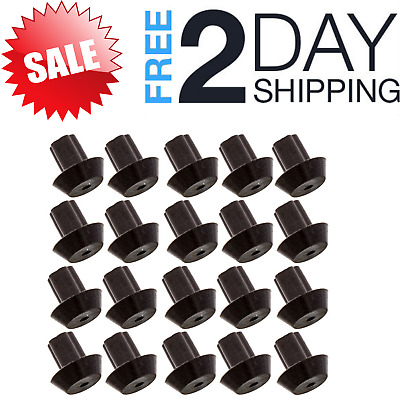 Stove Gas Range Grate Rubber Feet Bumper Grate Bumpers Replacement Pack Of 20