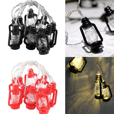 Water Oil LED Lamp Vintage String Lights Retro Style Party Lights Wedding Decora