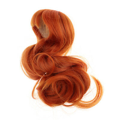 Heat Resistant Wig for 1/4 Xinyan Doll Hairpiece for 17-18'' Head Carroty