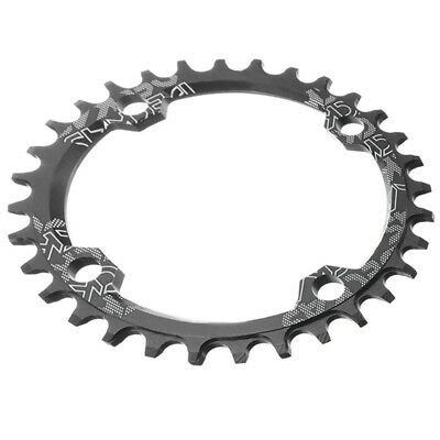 SNAIL Single Tooth Narrow Wide Bike MTB Chainring 104BCD black 32T C5T1