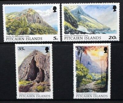 PITCAIRN ISLANDS 1997 Christian's Cave Scenery Nature. Set of 4. MNH. SG526/529.
