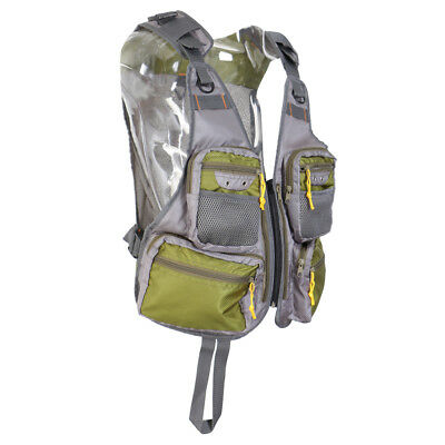 Fly Fishing Pack Outdoor Sports Mesh Vest Chest Pack Hunting Hiking Jacket