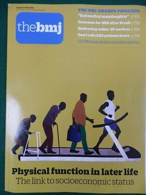 Bmj British Medical Journal 31 March-7 April 2018 Physical Function Later Life