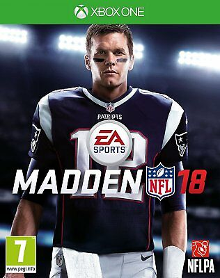 Madden NFL 18 Xbox One - Brand NEW Game X S 1 2018