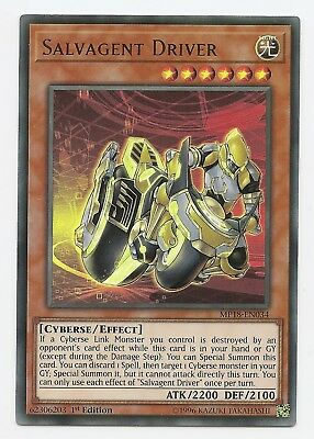 Salvagent Driver MP18-EN034 Ultra Rare Yu-Gi-Oh Card 1st Edition New