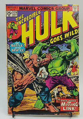 Incredible Hulk #179 Bronze Age Marvel Comics Herb Trimpe F