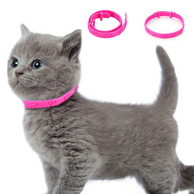 Pet Dog Cat Flea Tick Protection Neck Collar Ring Necklace Adjustable