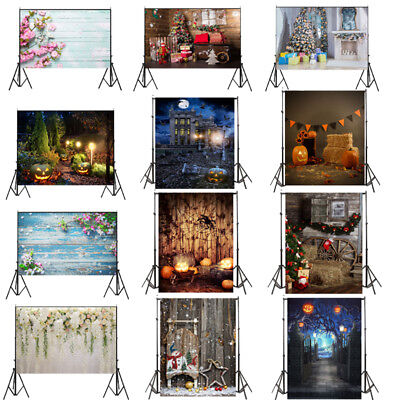 5x7/7x5FT Wall Photo Background Backdrop Western Festival Photography Prop UK
