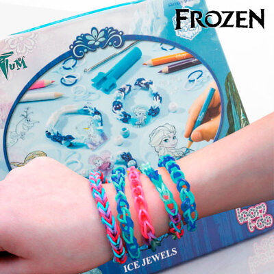 Rubber Bands To Make Bracelets With Frozen Beads High Quality Child Fashion