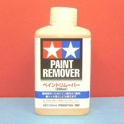Tamiya #87183 Paint Remover for plastic model (250ml)