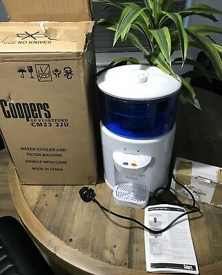 Coopers Of Stortford Mini Water Cooler & Filter Machine Just Add Tap Water USED