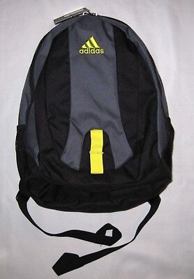 a722eb3853f Unisex Adidas Journal Large Capacity Backpack School Book Laptop Bag Gray  Nwt