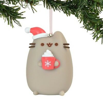 Enesco - Department 56 - Pusheen Meowy Christmas Pvc Hanging Ornament, 2.75-Inch