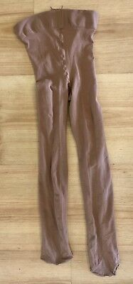 Body Wrappers Footed Dance Tights Child Size 4-7-S/M Dance Ice Skating FREE ship