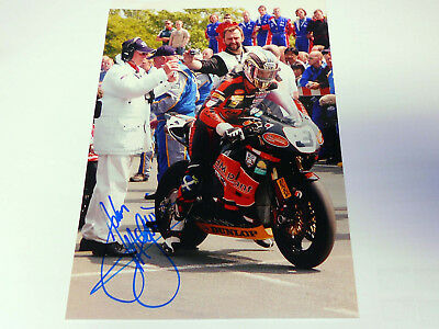 Original Autogramm von John Mc Guiness Mr. TT Isle of Man 2007