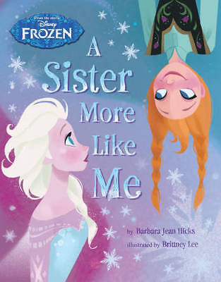 Disney Frozen A Sister More Like Me Storybook, Disney, New