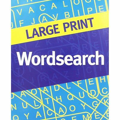 Large Print Wordsearch 2 (blue cover), New