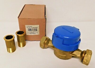 Water meter Water flow meter Wet Multi jet type unit PF 3/4, Coupling (PT 3/4)