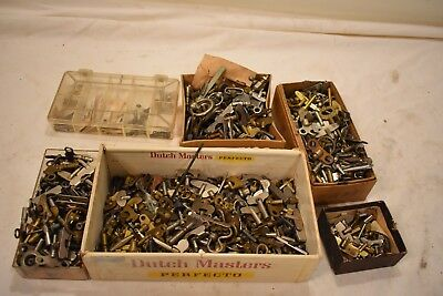 Box Lot 20. Hundreds Of Knobe And Winders For Alarm Clock Repair Must Have Parts