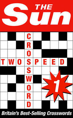The Sun Two-speed Crossword Book 1, The Sun, Excellent