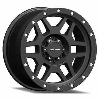 17x9 Machined Black Pro Comp Series 41 41 Wheels 5x5 6 Lifted