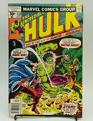 Incredible Hulk #210 Bronze Age Marvel Comics Len Wein VF