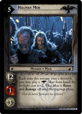 LOTR TCG Cliffs of Emyn Muil x2 4R299 The Two Towers Lord of the Rings MINT  x2