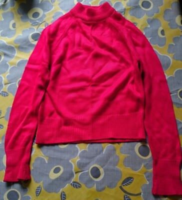 Original ST MICHAEL (Marks and Spencer) Red Roll Neck Jumper Age 3-4