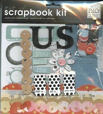 Mambi Scrapbook Page Kit Pink Survivor Cancer 12 X 12 Me And My