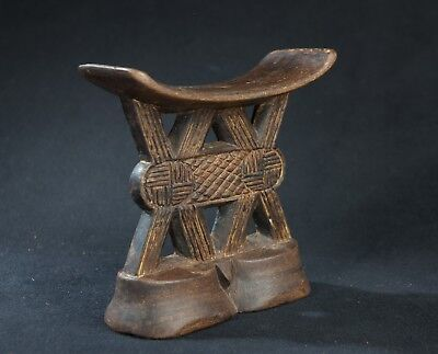 Shona Head Rest, Zimbabwe, Southern African Domestic Material Culture.