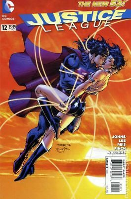 Justice League #12A 2012 Lee Variant VF Stock Image