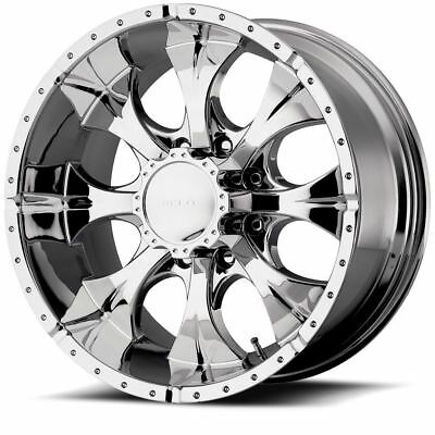 15 Helo He791 Maxx Full Chrome 15x8 Wheel Set Rims 15inch Vehicles