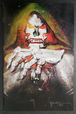 Fantastic Four 1 Bill Sienkiewicz Exclusive Dr Doom Variant Marvel Comics