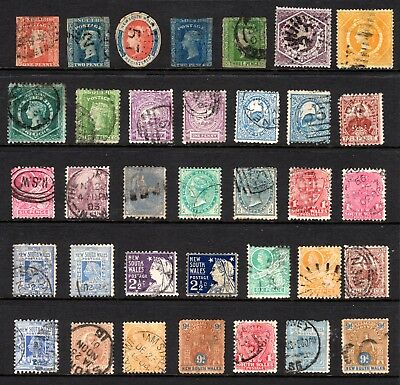 Collection Of New South Wales - Early Australia States