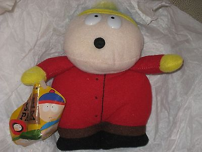 Rare South Park Cartman 1997 Beanie Doll Comedy Central