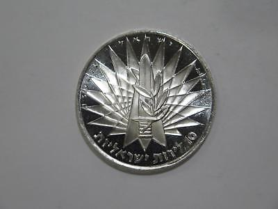Israel 1967 10 Lirot Victory Commemorative Silver World Coin Collection Lot #tue