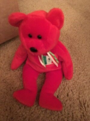 Ty Beanie Baby 1999 Retired Osito The Mexican Red Bear No Tag