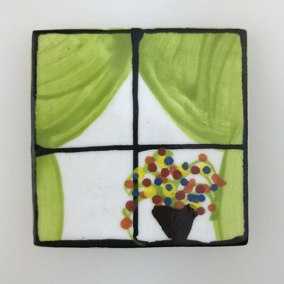 Mosaic Inserts - CERAMIC WINDOW - Green Curtains ~ Mosaic Inserts, Art, Craft...
