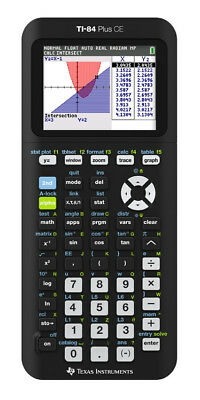 Texas Instruments TI-84 Plus CE Black Graphing Calculator New Factory Sealed