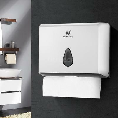 CHUANGDIAN Bathroom Tissue Dispenser Tissue Box for Multifold Paper Towels Y8J1