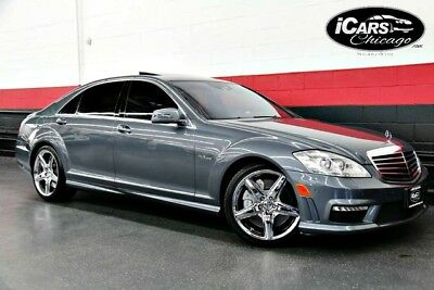 2010 Mercedes-Benz S-Class  2010 Mercedes Benz S63 AMG 2-Owner Distronic Rear TVs Driver Assist Night Vision