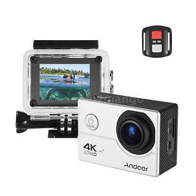 """Andoer 4K 16MP 1080P 2"""" LCD HD WiFi Action Sports Camera DV 170° Wide Angle Y1P2"""