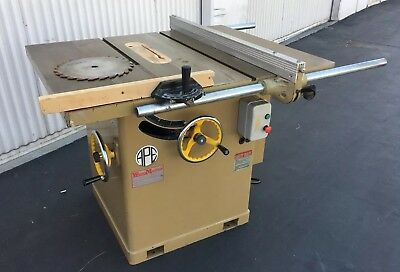 APE 300H Industrial table saw 12' blade 5HP 3PH 220/440V