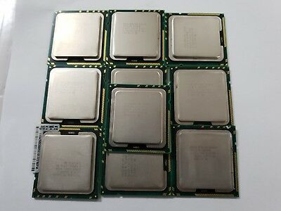 10 x Intel Xeon E5620 SLBV4 2.40GHz/12MB/5 86GT/s Socket/Base LGA1366 CPU Proc