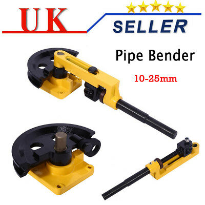 Pipe Bender 10-25mm Heavy Duty Manual Steel Pipe Tube Bending Handheld Machine
